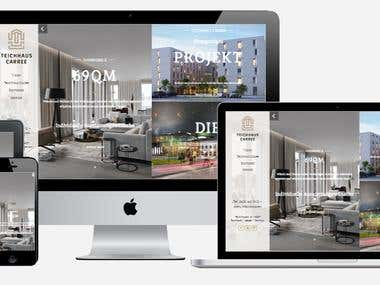 Hotel website UI Design