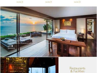 Luxury Resort Fully Responsive Informative website