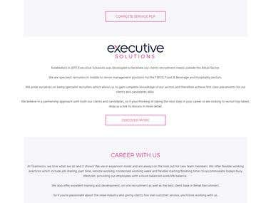 Fully Responsive and Dynamic Recruitment Web Portal