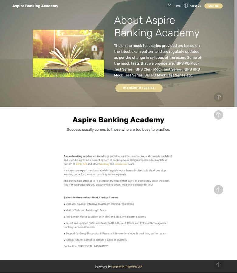 Dynamic Website For