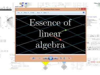 Probability, Eng-Maths, Linear algebra and differential eq's