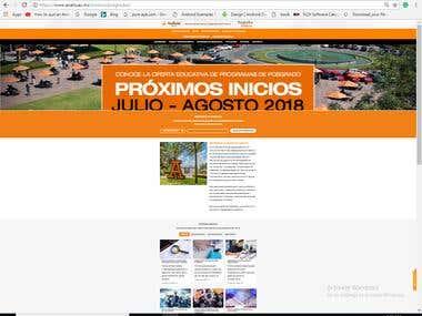 Universidad Anáhuac Sitio