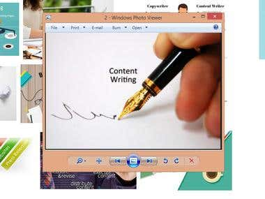 Content writing, product listing and copy typing images etc