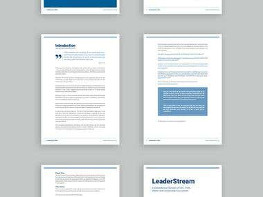 book layout/design in Microsoft Word