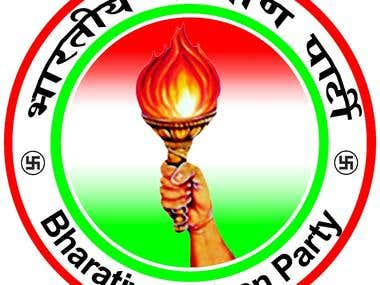 Political Party Website & Logo