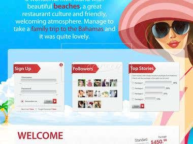 beach website