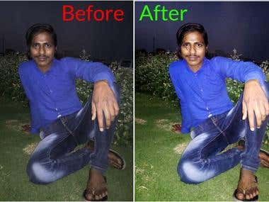 Retouch And Convert Image Quality