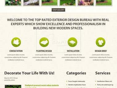 exterior design website