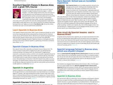 Ibero Spanish School - Education
