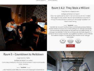 Booking system for escape room - Wordpress