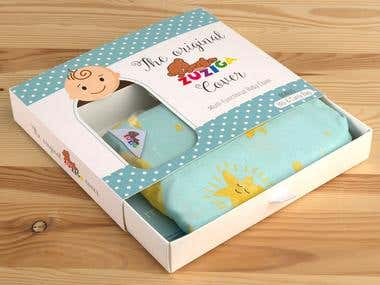 Multi-Functional Baby Cover - Drawer Box Packaging Design