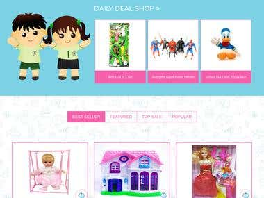 Online store -Toys