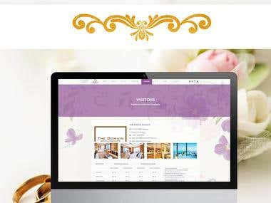 Wedding And Event Management Website