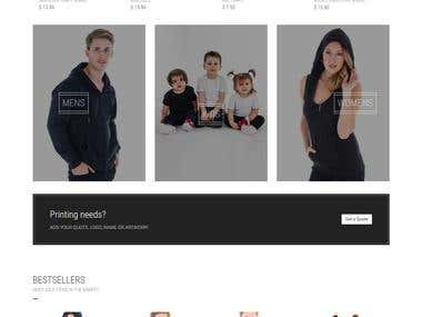 E commerce | Online Clothing Store
