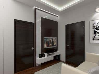 Living Area Renderings