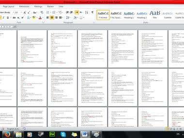 Transcription (90mins each, 4 files, Total: 360mins)