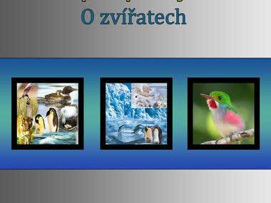 E-book Cover Created Using Photo Shop