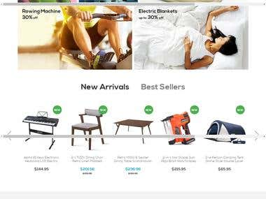 E commerce | Shopping site for home needs