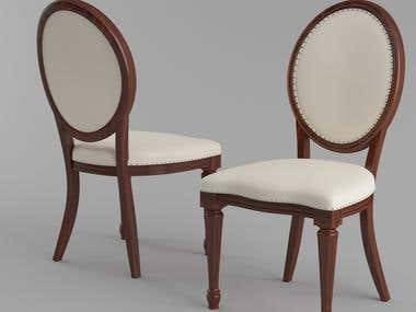 Chairs Rendering