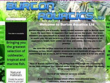 Burton Aquatics Ltd
