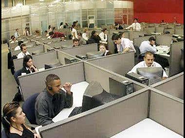 i'm also working in telemarketing