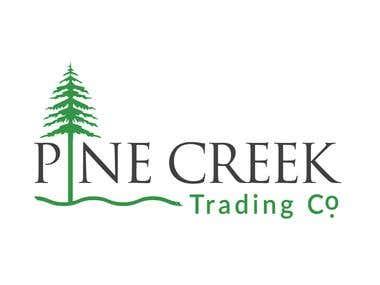logo for pine creek company