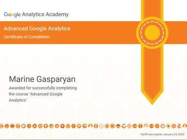 Google Analytics Academy Certification
