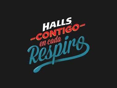 Contigo en cada respiro/Halls
