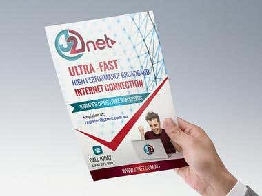 Flyer for J2Net