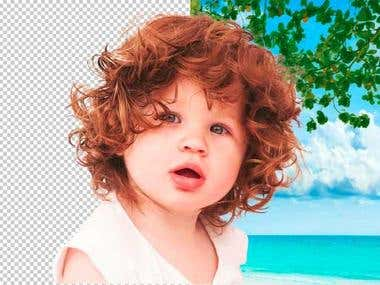 Clipping Path (Background Change)