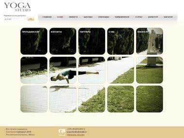 yogastudio.by web site