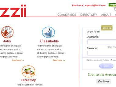 Wordpress Classifields, Directory, Job site creation