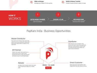 Paykaro India (http://paykaroindia.com/) (Mobile Recharge)