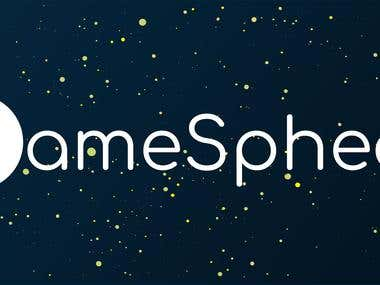 "Vector logo ""GameSphear"""