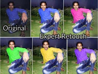 Expert Retouch Any Image Or Photo