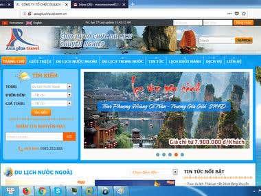 Tourism Webiste