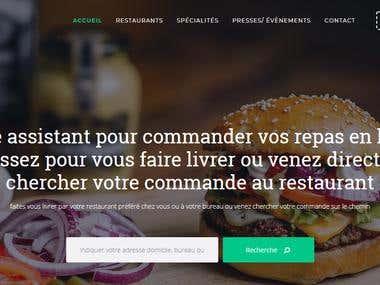 Website Design and Development For www.roadruns.fr