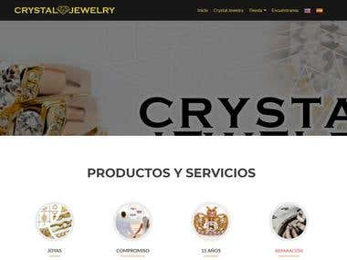Wordpress eCommerce jewelry store.