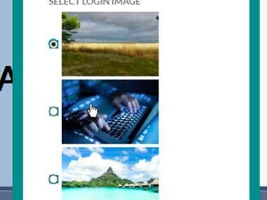 Password Creation And Authentication through Image