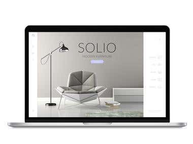Web Design - E-Commerce Modern Furniture