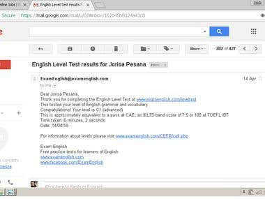 English Level Test C1(advanced)