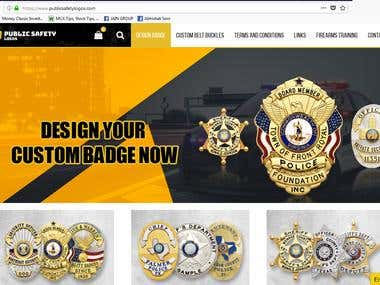 E-commerce website !! woo-commerce website !! publicsafety