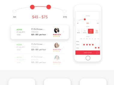 Tootee Startup App UI UX