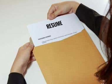 Resume, Cover Letter and LinkedIn Profile Optimization