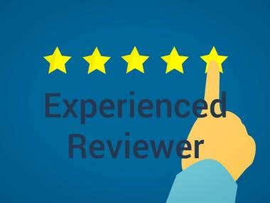 Experienced Reviewer