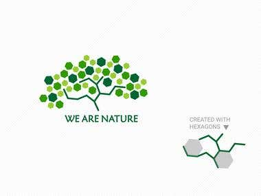 Logo for WE ARE NATURE