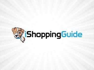 iShopping Guide logo design