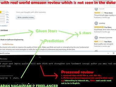 ML & Natural Language Processing on 0.5 M Amazon Reviews