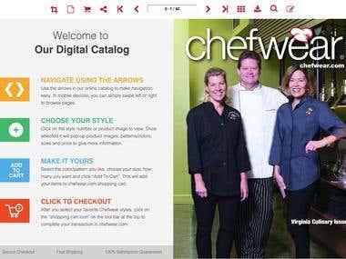 ChefWear WebSite