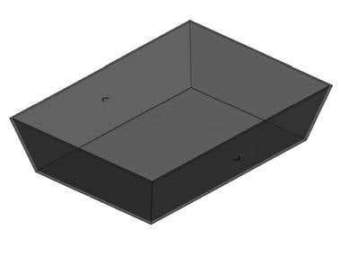 Modelado de Objeto 3D en Autocad